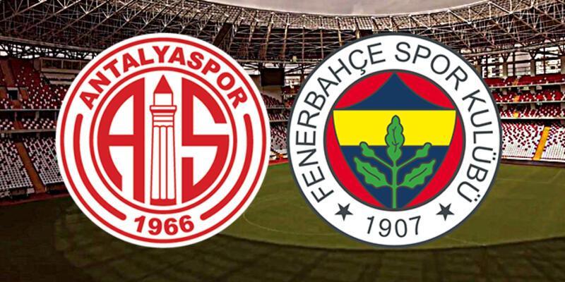 Süper Lig 17. hafta: Antalyaspor, Fenerbahçe maçı ne zaman, saat kaçta?