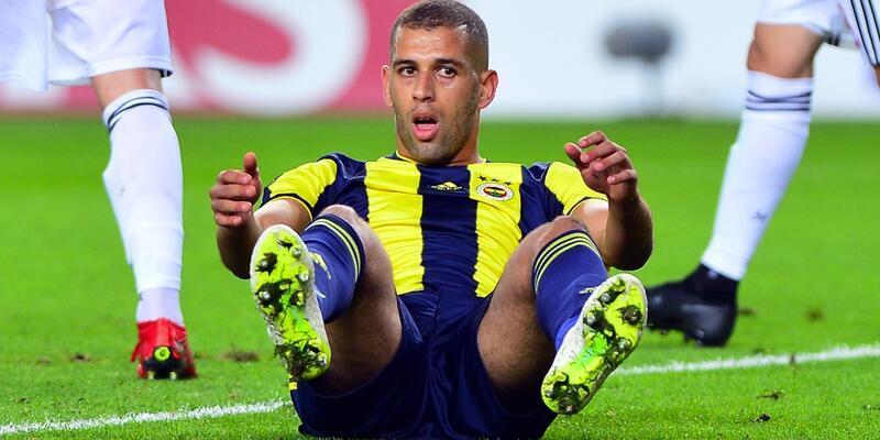 Islam Slimani 1 yılda 2 gol attı