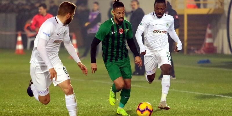 Akhisarspor 0-0 Konyaspor / Maç özeti