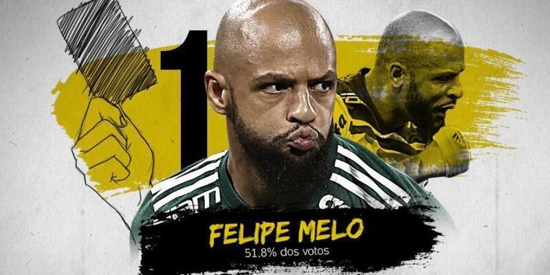 Felipe Melo en gaddar oyuncu seçildi