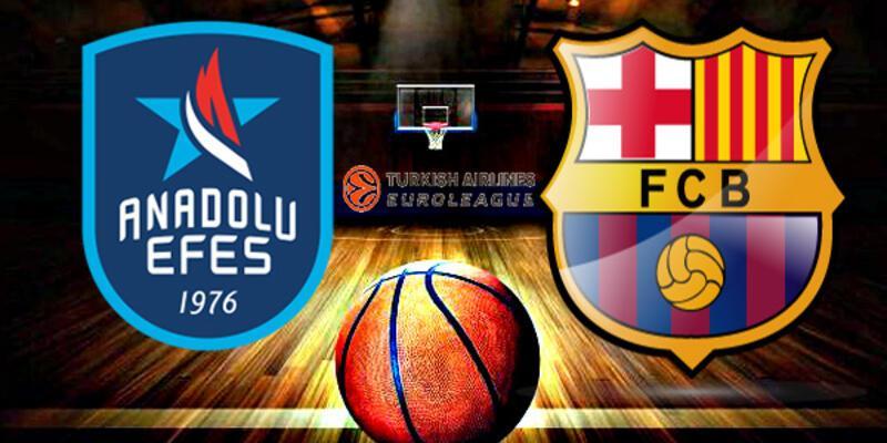 THY Avrupa Ligi: Barcelona, Anadolu Efes basketbol maçı saat kaçta, hangi kanalda?