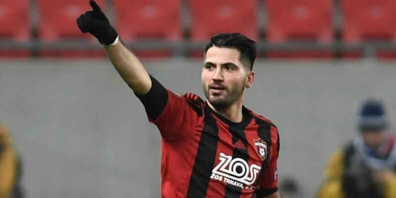 Spartak Trnava'lı Kubilay: Fenerbahçe'ye gol attım ve mecbur sevindim