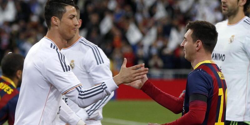 Ronaldo, Messi'yi geçemedi