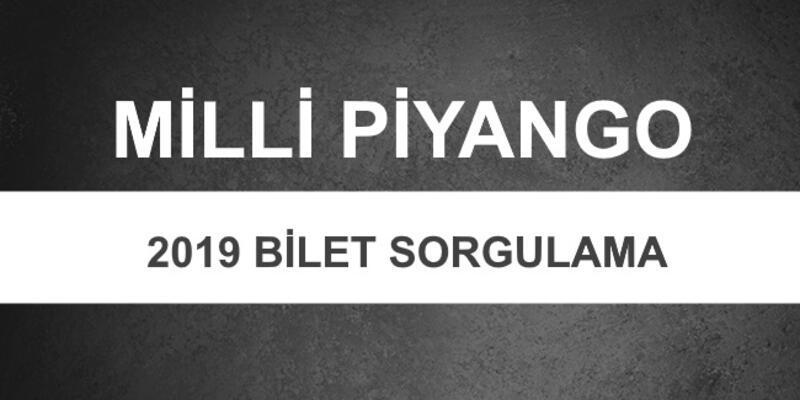 Milli Piyango sonuçları: 2019 Milli Piyango bilet sorgulama