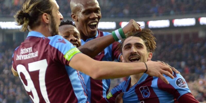 Trabzonspor'un kamp kadrosu açıklandı