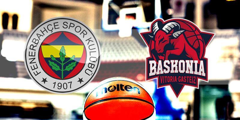 Fenerbahçe Beko, Baskonia maçı ne zaman, saat kaçta, hangi kanalda?