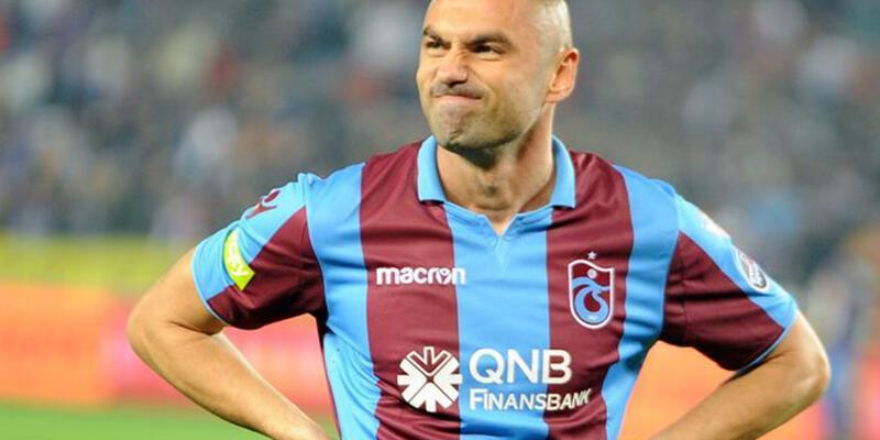 Trabzonspor Burak Yılmaz'ı borsaya bildirdi