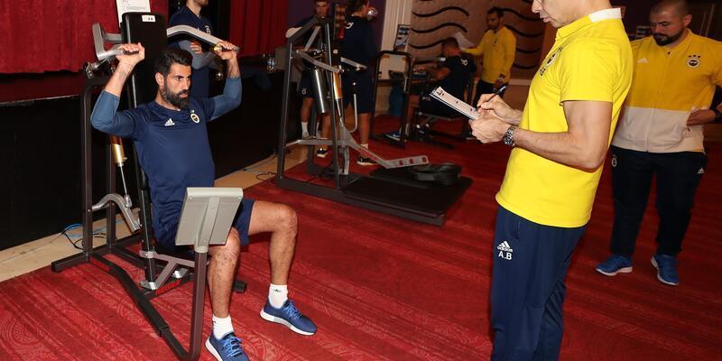 Fenerbahçe denge ve kuvvet çalıştı