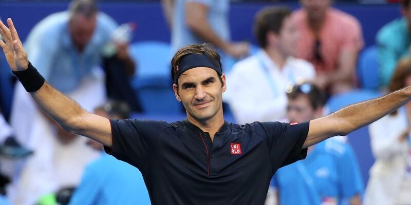 Roger Federer yeni yıla zaferle başladı