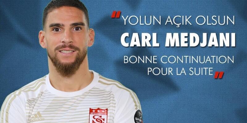 Carl Medjani Sivasspor'dan ayrıldı