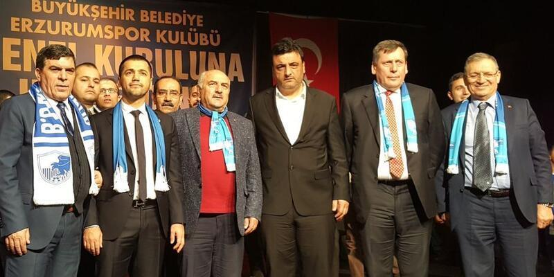 Hüseyin Üneş Büyükşehir Belediye Erzurumspor'un yeni başkanı