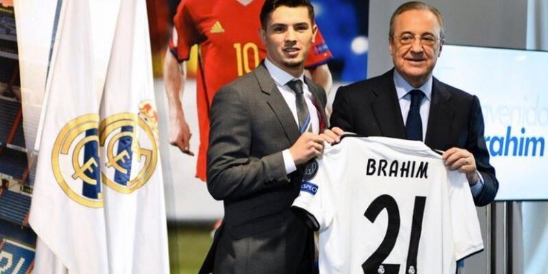 Brahim Diaz basına tanıtıldı