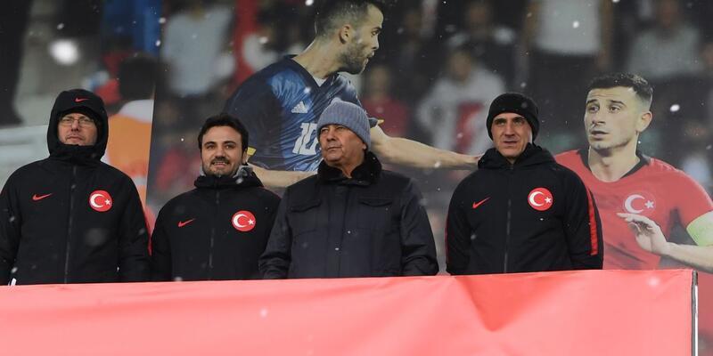 Lucescu TFF 2. Lig karmalarının maçını izledi