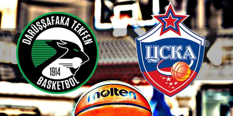 Darüşşafaka Tekfen, CSKA Moskova basket maçı saat kaçta, hangi kanalda?