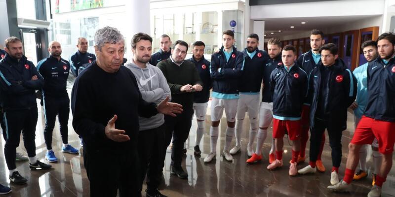 Spor Toto 1. Lig karmaları özel maçta karşılaştı