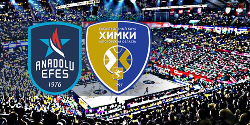 Anadolu Efes, Khimki Moskova maçı ne zaman, saat kaçta, hangi kanalda?