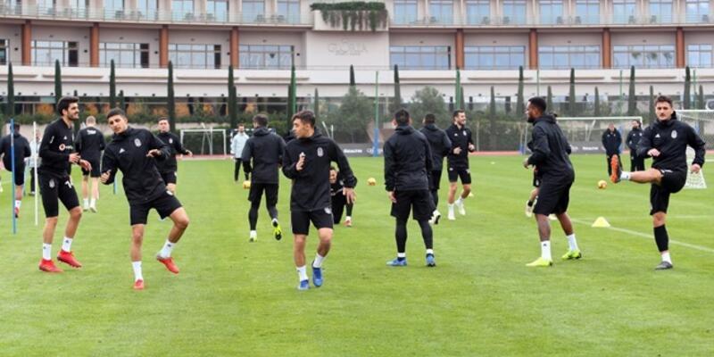 Beşiktaş Greuther Fürth maçına hazır