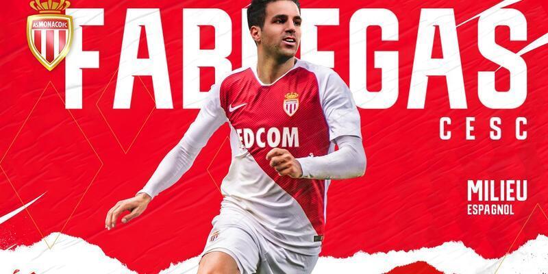 Fabregas resmen Monaco'da