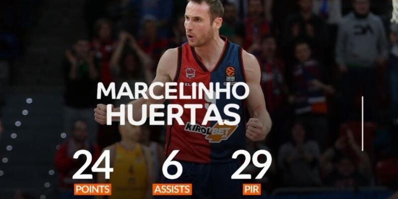 18. haftanın MVP'si Huertas