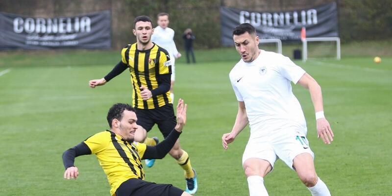 Konyaspor, İstanbulspor'u tek golle geçti