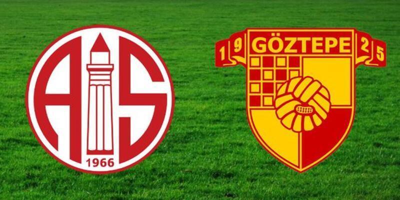 Antalyaspor - Göztepe maçı saat kaçta hangi kanalda?