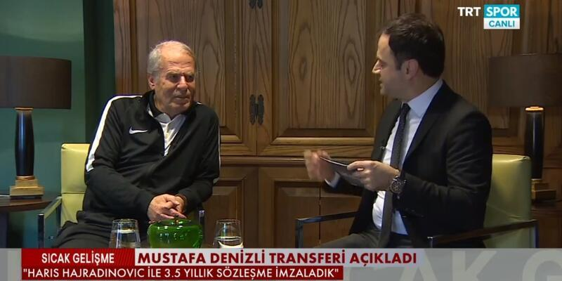 Mustafa Denizli canlı yayında transferi açıkladı