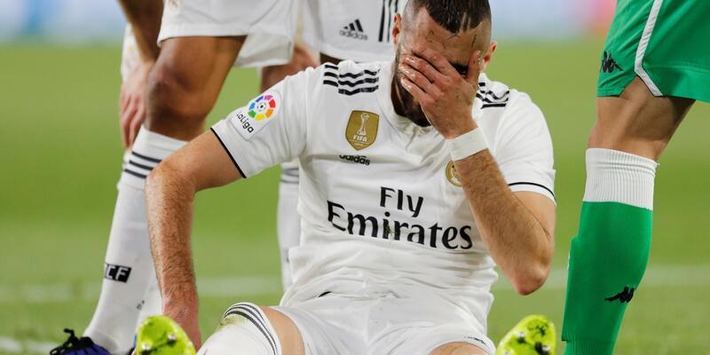 Real Madrid'de sakat futbolcu sayısı 7'ye yükseldi