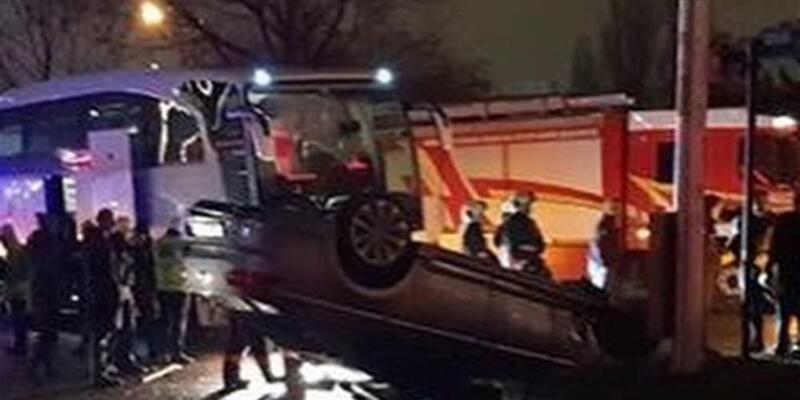 Halkbank'ın rakibi kaza yaptı, maç ertelenebilir