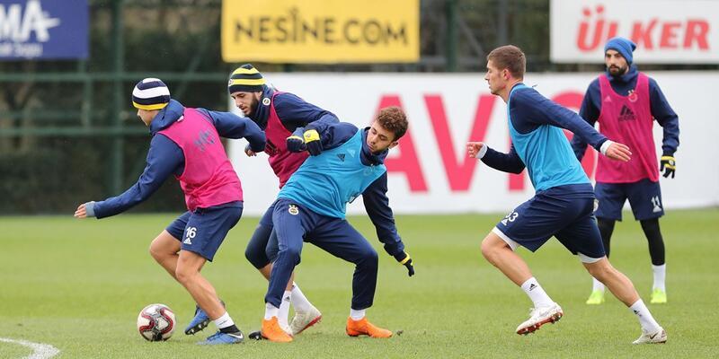 Fenerbahçe, Ümraniyespor maçı hazırlıklarını sürdürdü