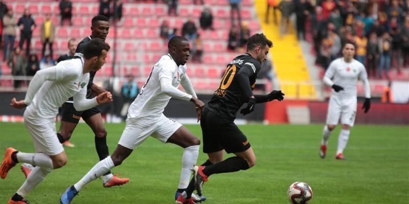 Kayserispor 1-2 Akhisarspor / Maç Özeti