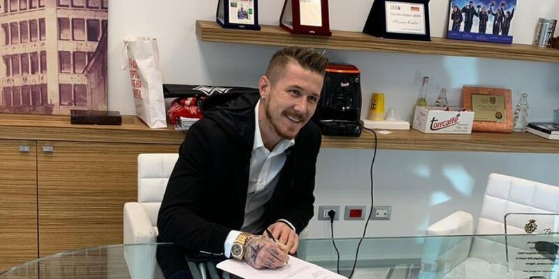 Trabzonspor Juraj Kucka'yı KAP'a bildirdi