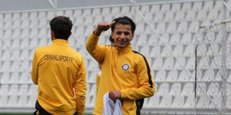 Osmanlıspor 18 yaşındaki Suriyeli yeteneği denemeye aldı