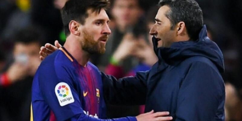 Barcelona'dan Ernesto Valverde kararı