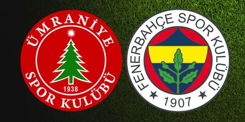 Ümraniyespor, Fenerbahçe kupa maçı ne zaman, saat kaçta, hangi kanalda?