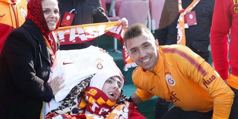 Galatasaraylı taraftarın hayali gerçek oldu