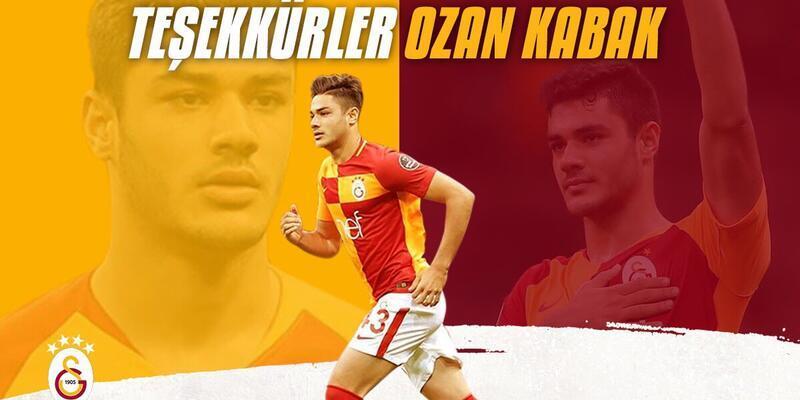 Galatasaray'dan Ozan Kabak'a teşekkür