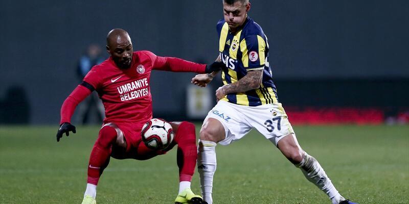 Ümraniyespor 1-0 Fenerbahçe / Maç özeti