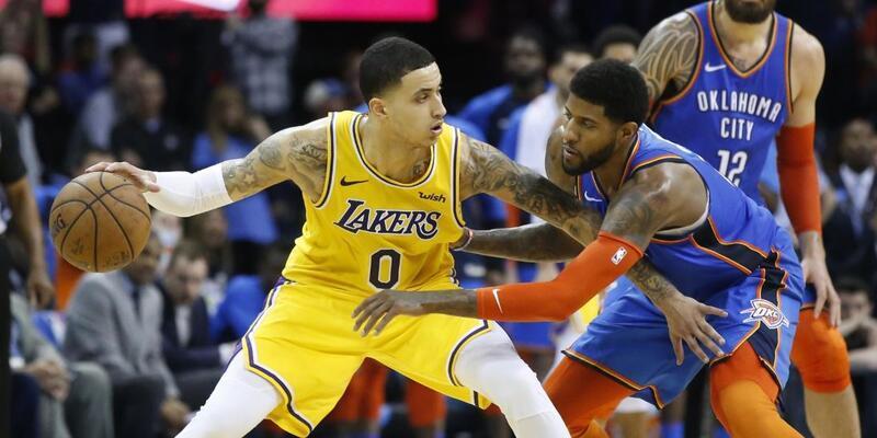Lakers çekişmeli maçta Thunder'ı devirdi