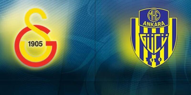 Galatasaray - Ankaragücü maçı saat kaçta hangi kanalda yayınlanacak?