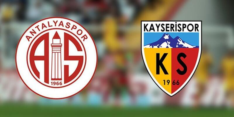 Antalyaspor - Kayserispor CANLI