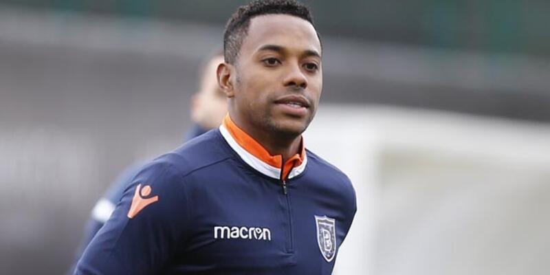 Robinho Başakşehir formasıyla ilk kez lig maçına çıktı