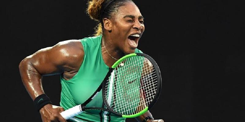 Serena Williams, 1 numaralı seribaşı Halep'i eledi