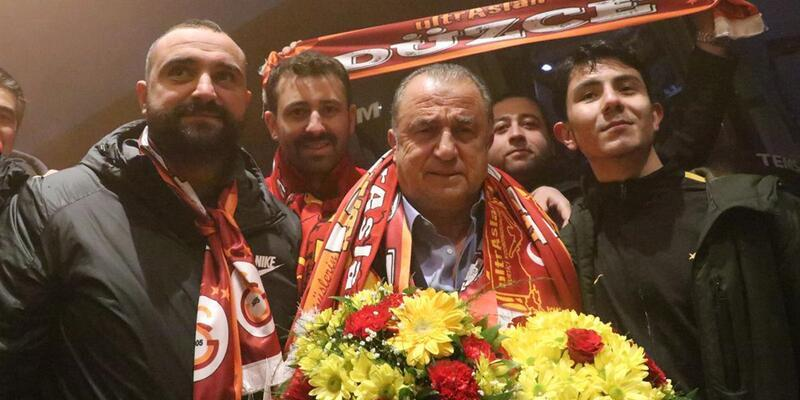 Galatasaray kafilesi Bolu'da