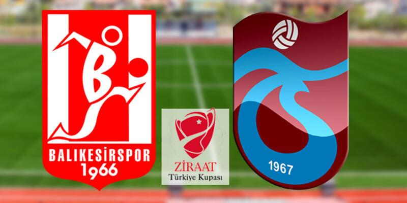 Balıkesirspor, Trabzonspor maçı ne zaman, saat kaçta, hangi kanalda?