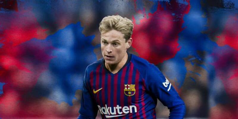 Son dakika: Barcelona 86 milyon euro'ya Frenkie de Jong'u transfer etti