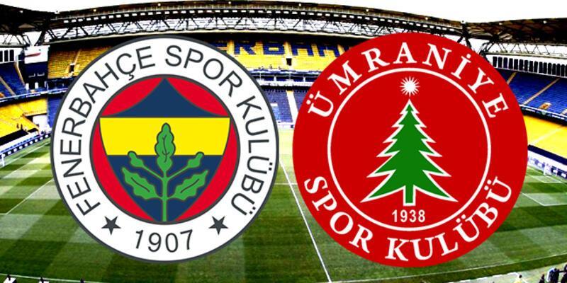 Fenerbahçe, Ümraniyespor kupa maçı ne zaman, saat kaçta, hangi kanalda?