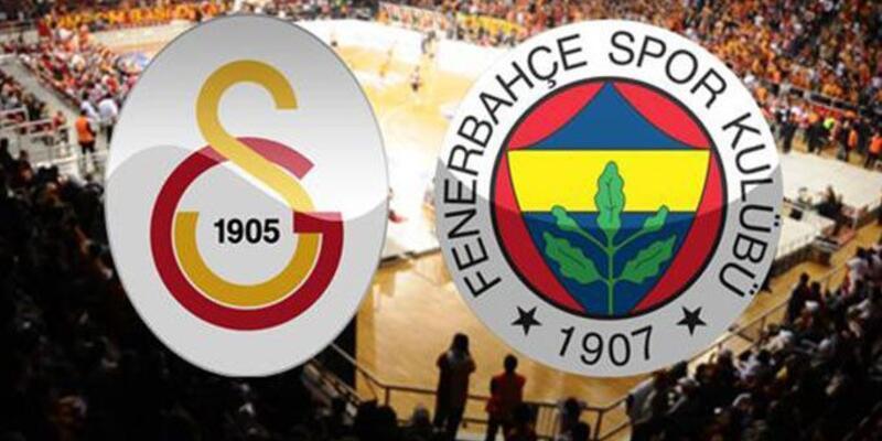 Kadınlar basketbolda Galatasaray - Fenerbahçe derbisi