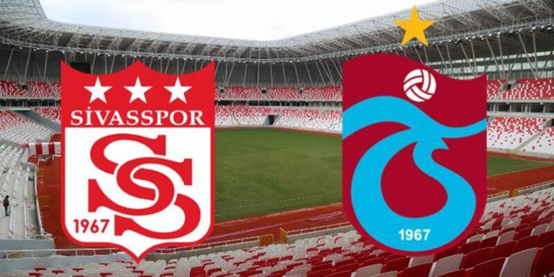 Sivasspor - Trabzonspor maçı muhtemel 11'leri