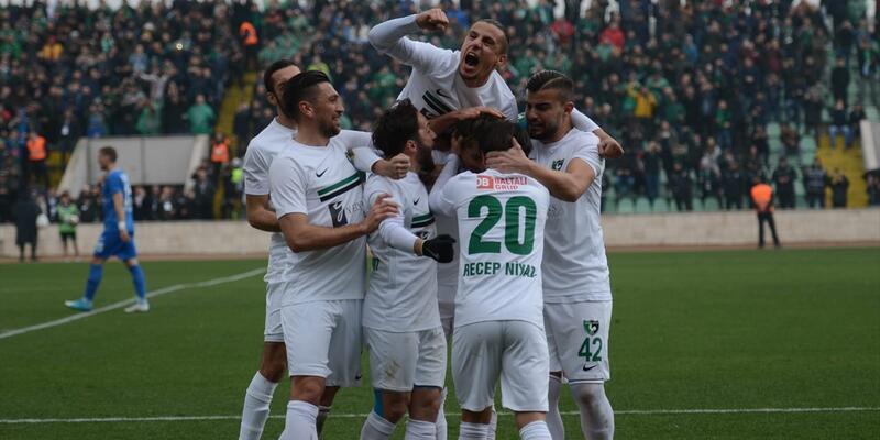 Denizlispor 5-1 Adana Demirspor / Maç özeti