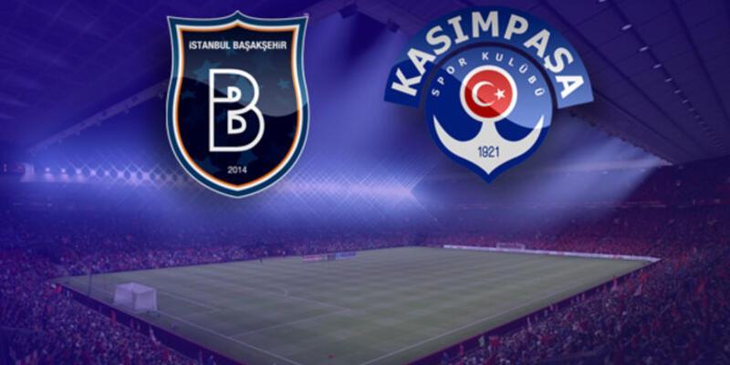 Başakşehir - Kasımpaşa maçı saat kaçta hangi kanaldan canlı yayınlanacak?